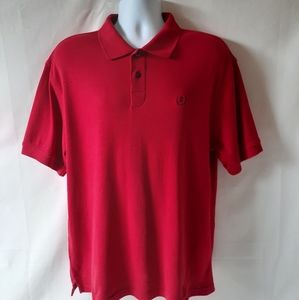 Izod men's red Polo shirt size L